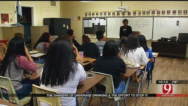 Oklahoma Task Force Cracks Down On Underage Alcohol Sales