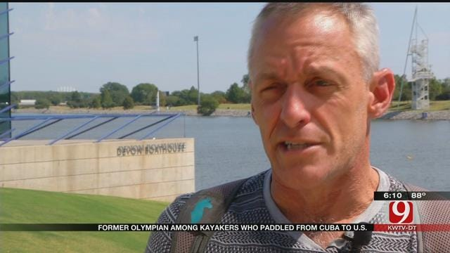 Olympic Medalist Tells Story Of Kayaking From Cuba To Florida