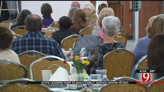 City, State Leaders Talk New Center for Domestic Violence Victims