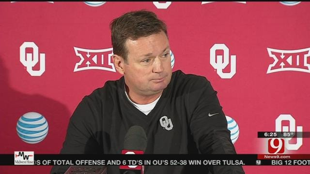 Stoops Addresses Media