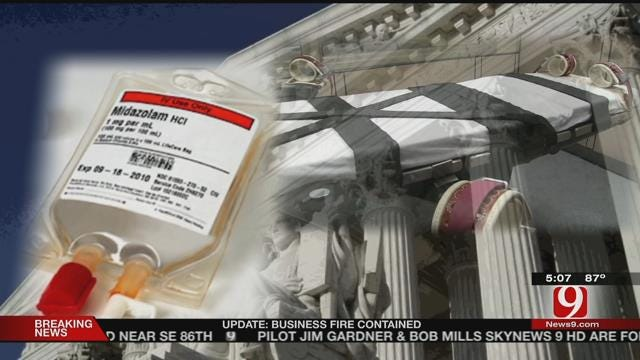 Richard Glossip's Attorneys Challenge State's Lethal Injection Method