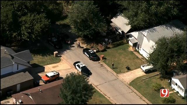 WEB EXTRA: SkyNews 9 Flies Over Homicide Investigation In SE OKC