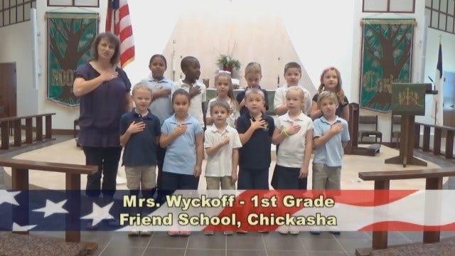 Mrs.Wyckoff's 1st GradeClass at Friend School in Chickasha