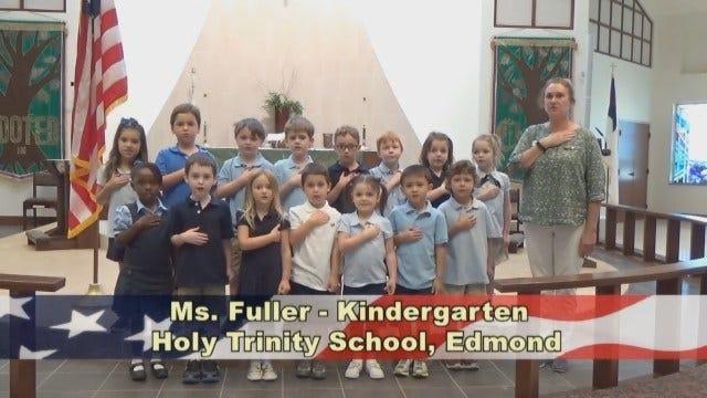 Ms.Fuller's KindergartenClass at Holy Trinity in Edmond