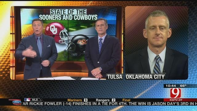 George Schroeder Talks OU and OSU