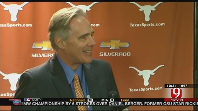 Patterson Out At Texas