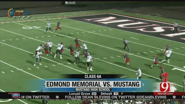 Mustang Sneaks Past Edmond Memorial