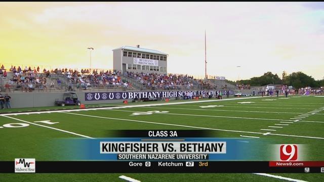 Bethany Vs. Kingfisher