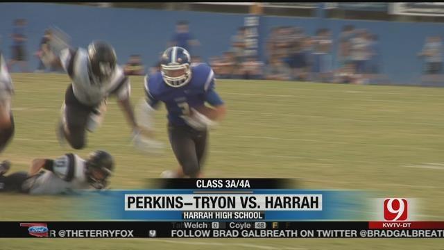 Harrah Mauls Perkins-Tryon