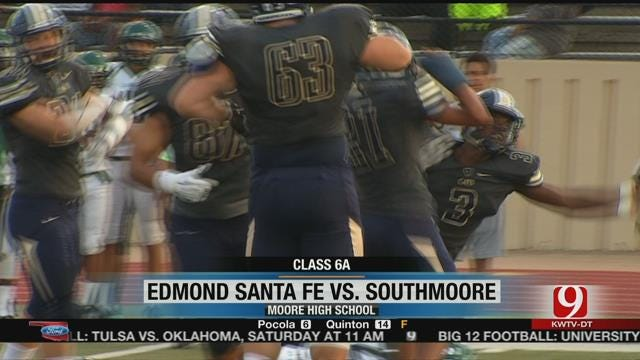 Southmoore Squeaks Past Edmond Santa Fe