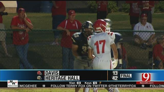 Heritage Hall Cruises Past Davis