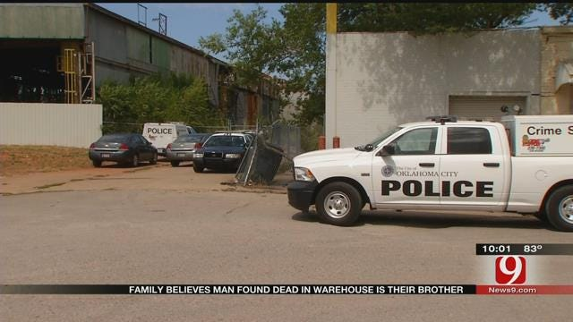 Family Believes Body Found In Downtown Warehouse Is Their Brother