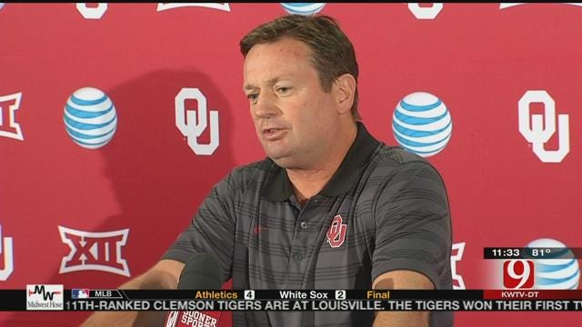 Stoops and Montgomery Talk Saturday's Matchup