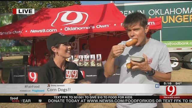 WEB EXTRA: News 9's Alex Cameron Finds Fair Food Favorites