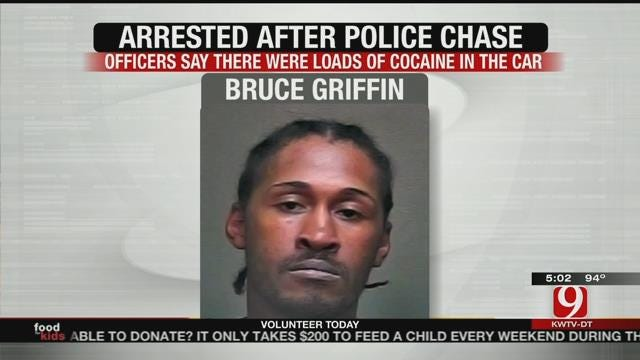 Case Of Mistaken Identity Leads To OKC Chase, Crash, And Drug Charges