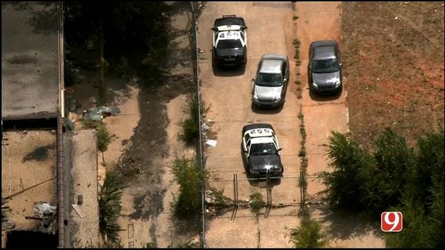 WEB EXTRA: Bob Mills SkyNews 9 HD Flies Over Homicide Investigation In OKC