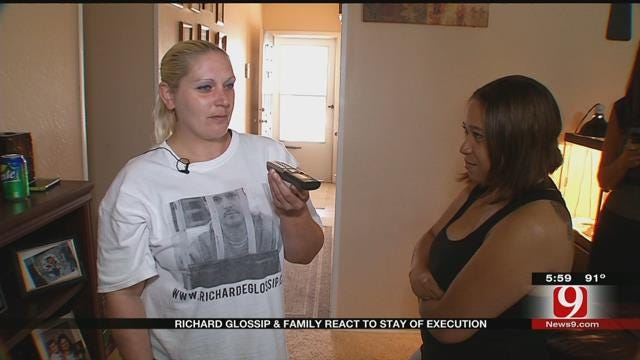 Richard Glossip And Family React To Stay Of Execution