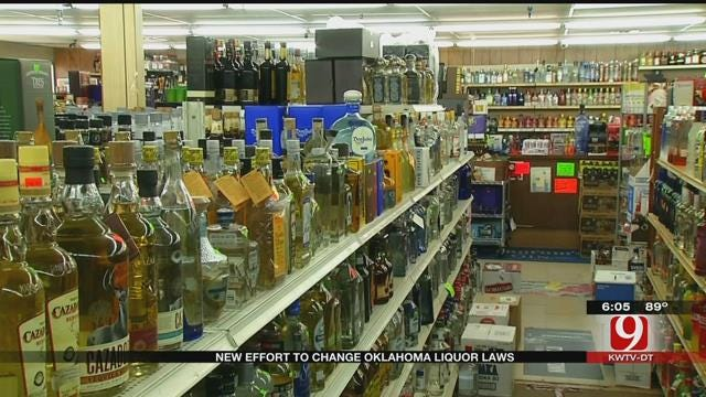 New Effort To Change Oklahoma Liquor Laws