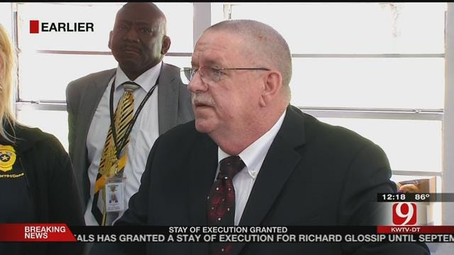 Director Of Oklahoma Department of Corrections Speaks On Glossip Execution Stay