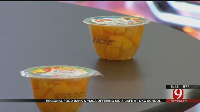 After School Cafe Keeps Oklahoma Children Fed