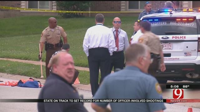 Officer-Involved Shootings In Oklahoma On The Rise In 2015