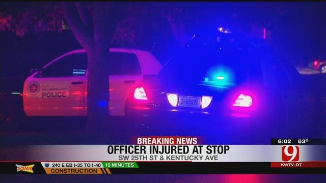 Driver Arrested After Running Over OKC Officer's Foot During Traffic Stop