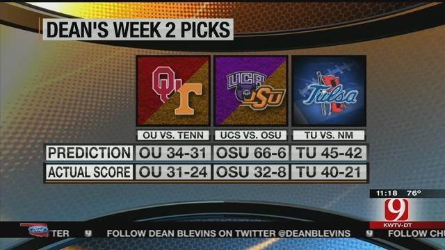 Week Three Predictions