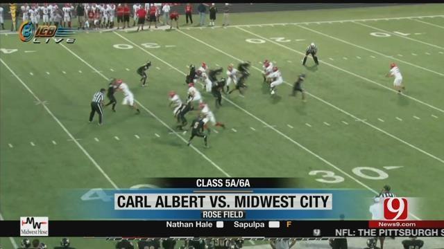 Midwest City Hangs On To Beat Carl Albert