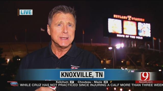 Sooners Less Than 24 Hours From Showdown In Knoxville