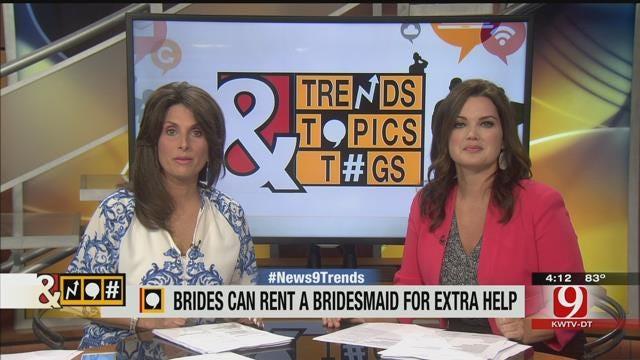 Trends, Topics, & Tags: Rent-A-Bridesmaid