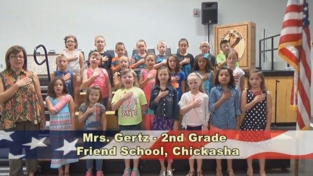 Mrs. Gertz's 2nd Grade Class At Friend School