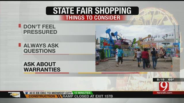 Tips On Shopping At The State Fair
