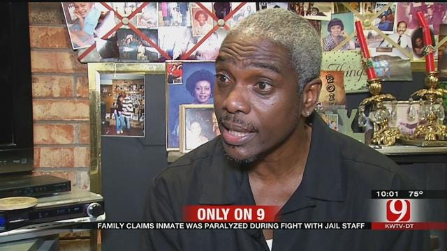 Family Claims Inmate Was Paralyzed During Fight With OK County Jail Staff
