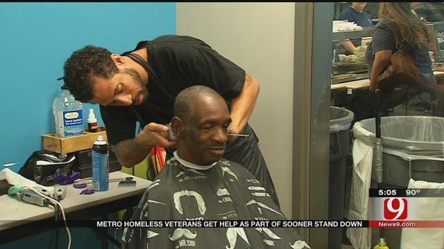 Homeless Veterans Around Metro Get Help As Part Of 'Sooner Stand Down'