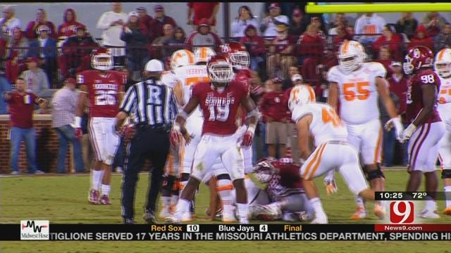 Sooners Prepare For Tennessee