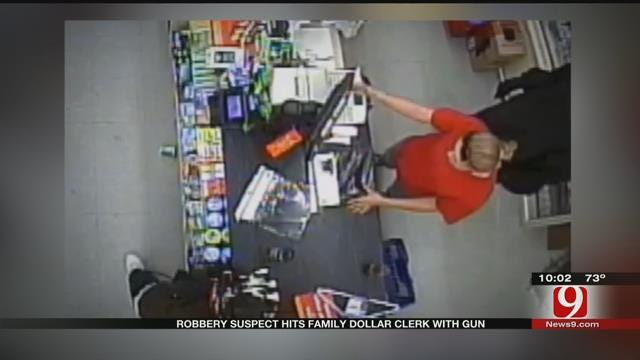 Suspect Slaps Clerk With Pistol During Armed Robbery