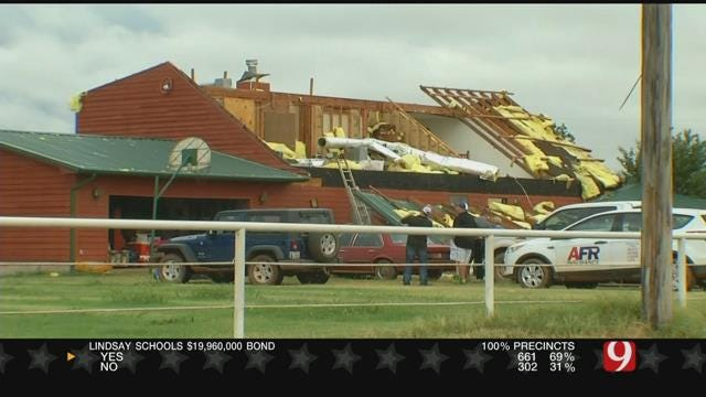 Guthrie Family Talks About Losing Roof During Storm