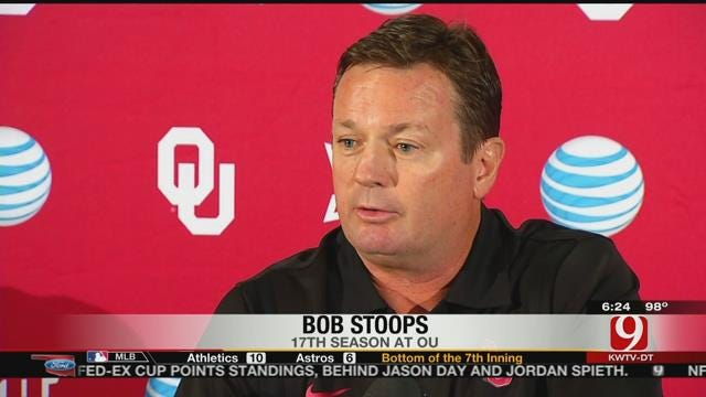 Sooners Prep For Showdown In Knoxville