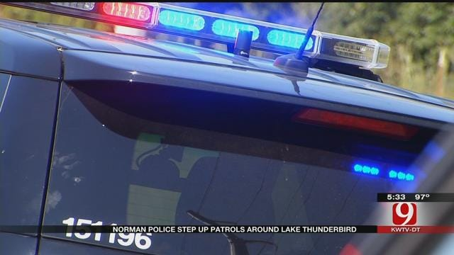 Norman Police Step Up Patrols Near Lake Thunderbird