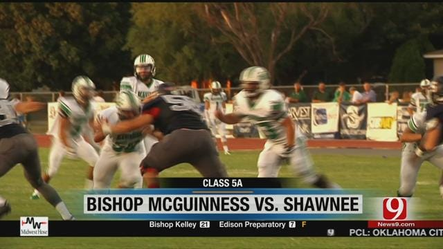 McGuinness Blows Past Shawnee