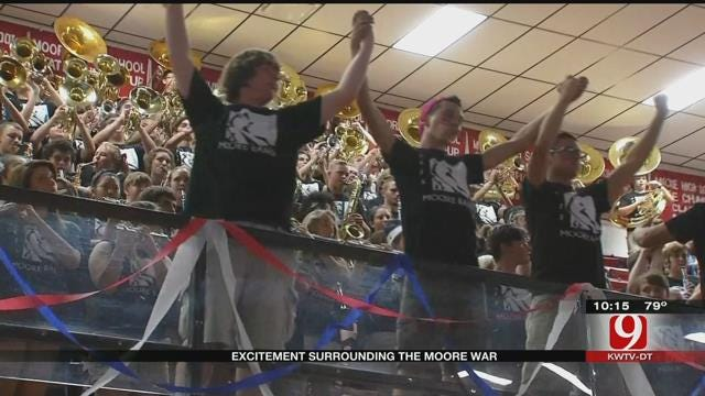 Students Fired Up For 'Moore War'