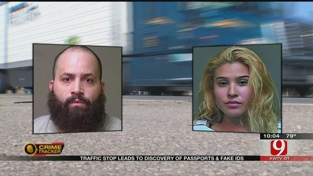 OCSO Says Traffic Stop Lead To Discovery Of Passports And Fake ID's