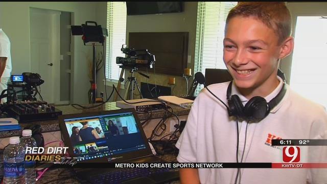 Red Dirt Diaries: Metro Kids Create Sports Network