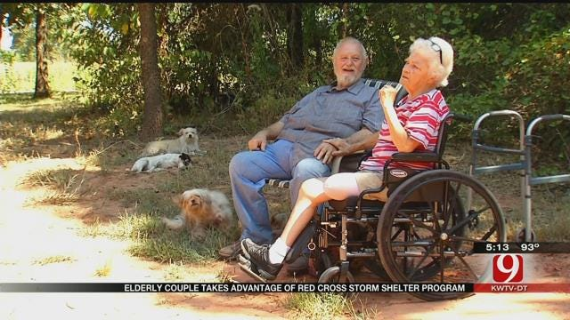 Elderly Couple Receives Free Storm Shelter Through Red Cross