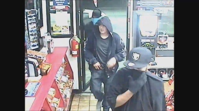 Three Caught On Camera Robbing OKC Convenience Store