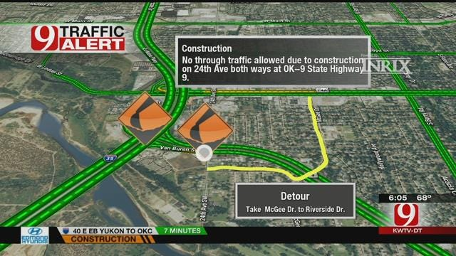 Construction, Road Closures To Impact OU Game Day Traffic In Norman