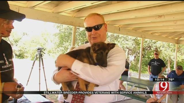 Stillwater Breeder Provides Veterans With Service Animals