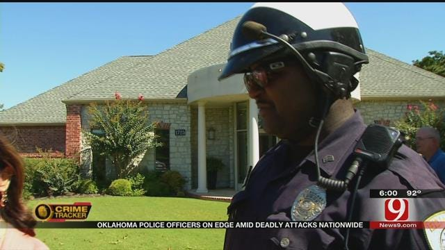 Oklahoma Police Officers On Edge Amid Deadly Attacks Nationwide
