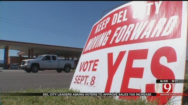 Del City Leaders Asking Voters To Approve Sales Tax Increase