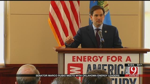 Senator Marco Rubio Meets With Oklahoma Energy Leaders In OKC